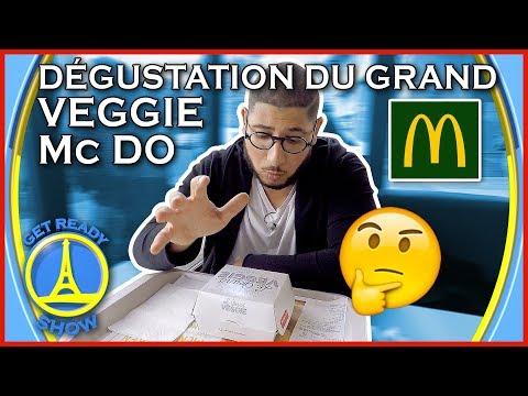 DÉGUSTATION GRAND VEGGIE MCDO ! MON AVIS ! - GET READY SHOW #40