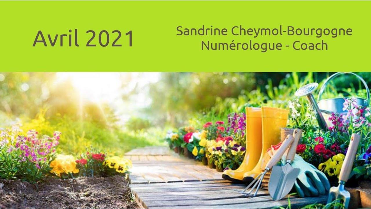 Les énergies du mois d'avril 2021 en numérologie