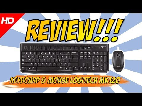 Review On Hand Keyboard & Mouse Logitech MK120