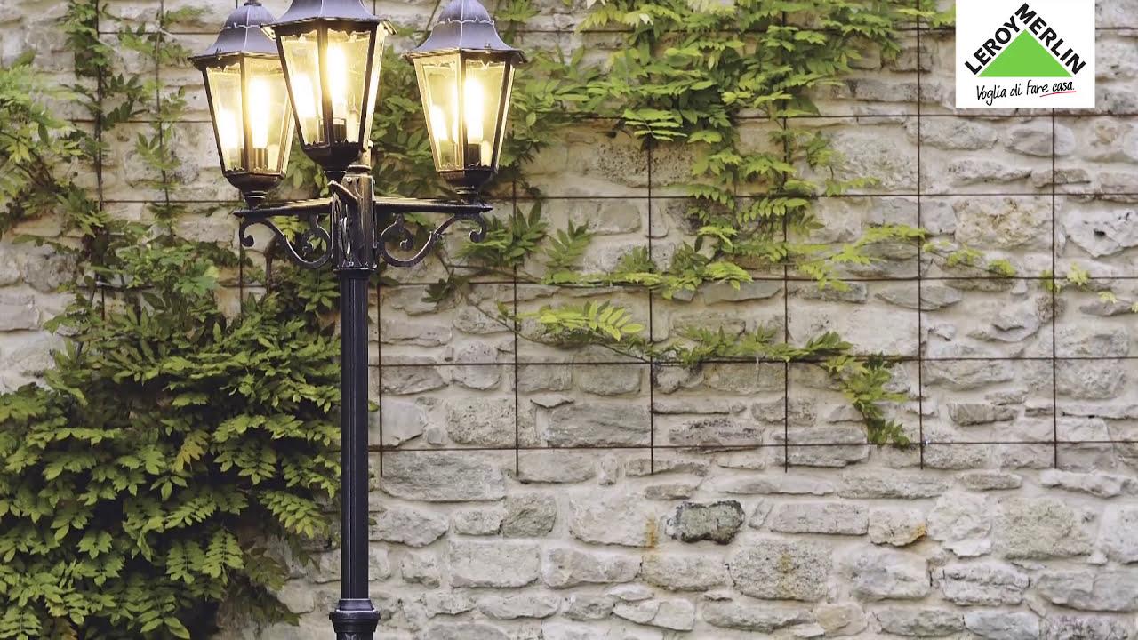 Come Installare L Illuminazione Da Giardino Leroy Merlin