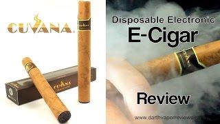 Cuvana: Disposable E-Cigar Review