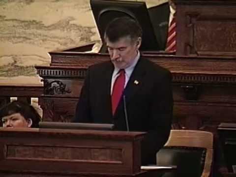 2011 Denny Rehberg Address to Montana State Legislature - Part 3/6 - Obamacare