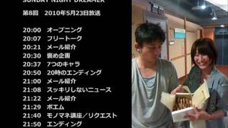 http://www3.to/snd 2010年5月23日の第8回生放送。テーマは「あなたが今...