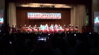 20160710 與秀明小學鼓隊演出《男兒當自強》