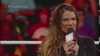 Lita Returns To Raw - WWE 7/14/15