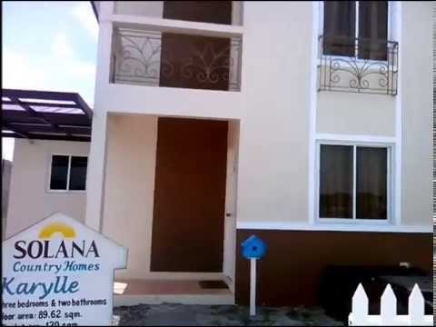 House and Lot for sale in san fernando pampanga Solana Karylle 3bedrooms