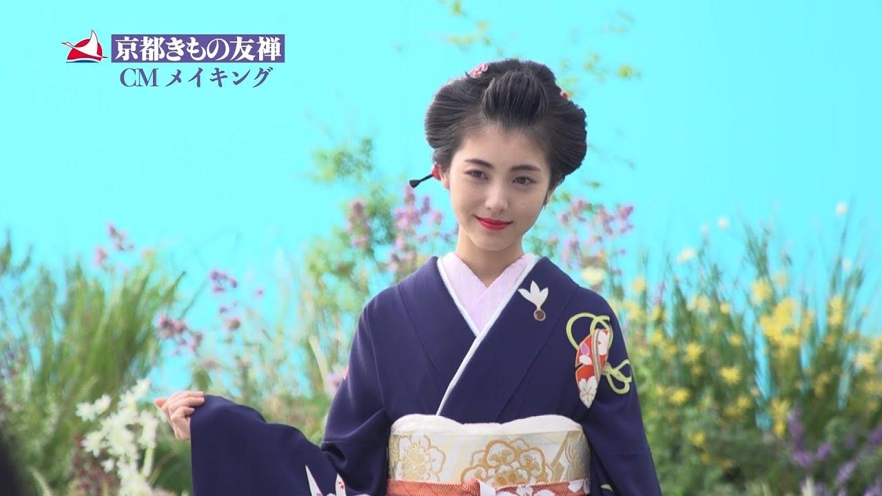 浜辺美波、5つの時代の振袖姿を披露 メイキング特別ver.を独占公開 成人式で着てみたいのは「落ち着いた色の明治」 京都きもの友禅TVCMメイキング