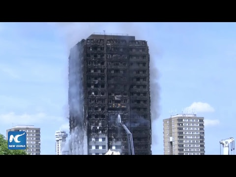 LIVE: Major fire at residential tower in west London
