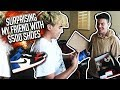 SURPRISING MY FRIEND WITH 500 SHOES mp3