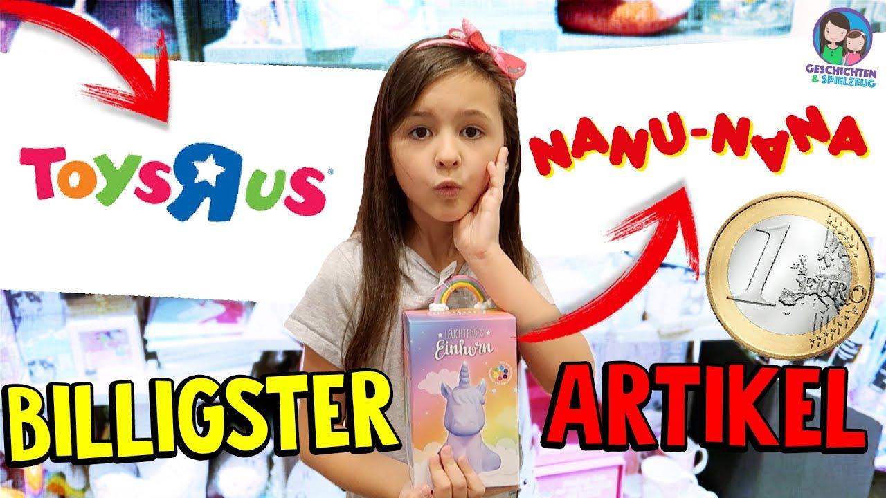 BILLIGSTES Produkt bei Toys \'R\' Us & NanuNana CHALLENGE ...