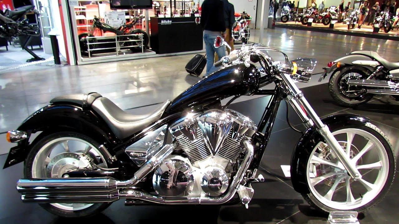 2014 Honda Fury VT1300CX Walkaround - 2013 EICMA Milan Motorcycle ...