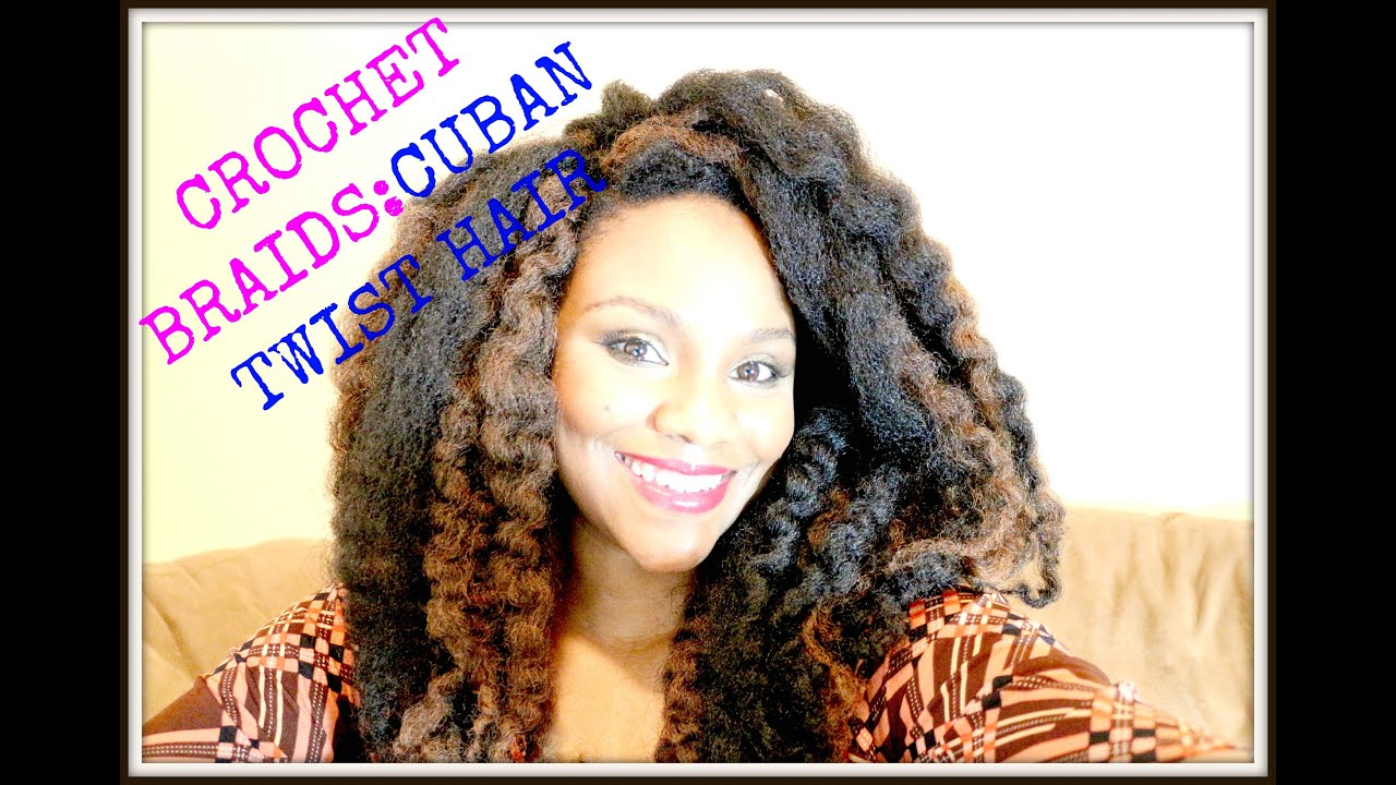 Crochet Braids Cuban Twist : Learn To: Crochet Braids W/ Cuban Twist Hair Highlights -Awesome ...