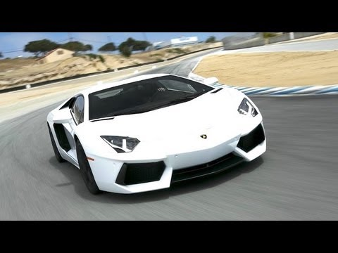 2012 Lamborghini Aventador Hot Lap 2012 Best Driver S Car