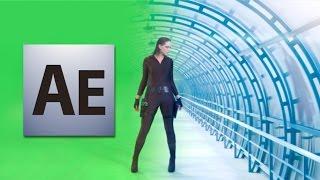 Как сделать кеинг или хромакей (keying, chroma key) в программе Adobe After Effects