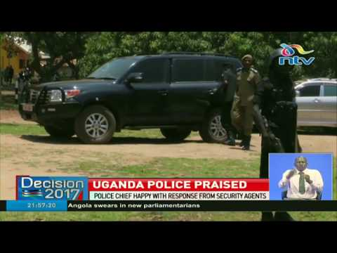 Uganda Police Chief happy with response from security agents