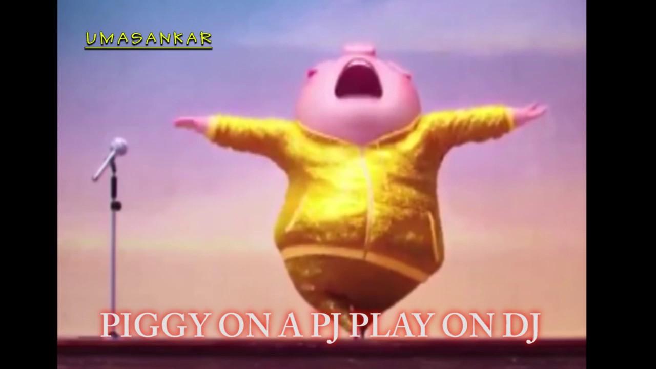 PIGY ON A PJ(an english hip hop rap song) - YouTube