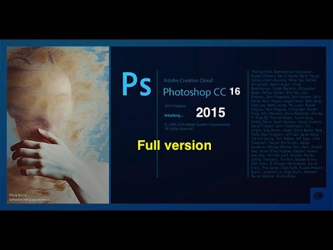 Photoshop cc 2017 : cài đặt và fix lỗi 64bit