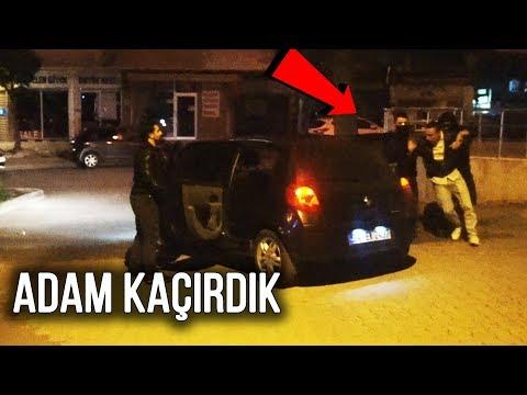 Türkiye'de ADAM KAÇIRMA ŞAKASI - Sokaktaki İnsanları Kaçırarak TROLLEDİK ! -