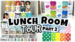 Lunch Room Tour   A CRAZY Amount Of Food Picks. Good2Grow Toppers. Napkins.   (Pt. 2)