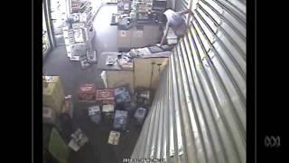 CCTV footage shows ram raid on Howard Springs Tavern