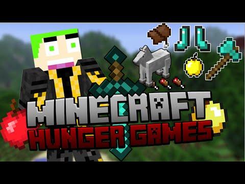 Minecraft - The Hungergames 424 Horse level X voor mij!