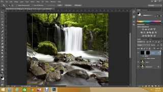 How to Create Waterfall effect in photoshop