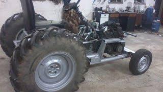traktor sam 126p - Homemade tractor
