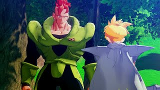 Dragon Ball Z: Kakarot - Gohan Meets & Befriends Android 16 before Cell Games