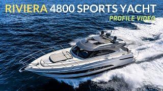 Riviera 4800 Sport Yacht R Marine Jones