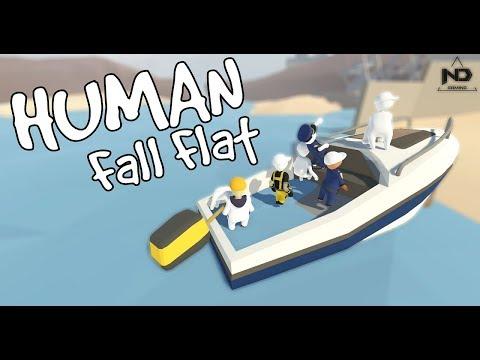 Human Fall Flat #5 - Lái cano ra biển khơi cùng người dẻo | ND Gaming