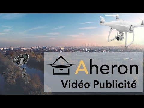 Presentation agence immobilière en drone - Aheron
