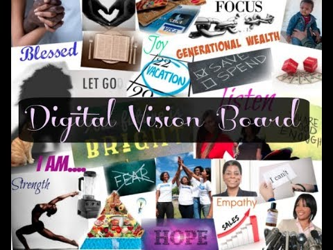 GOAL PLANNING FOR 2018? CREATE A DIGITAL VISION BOARD