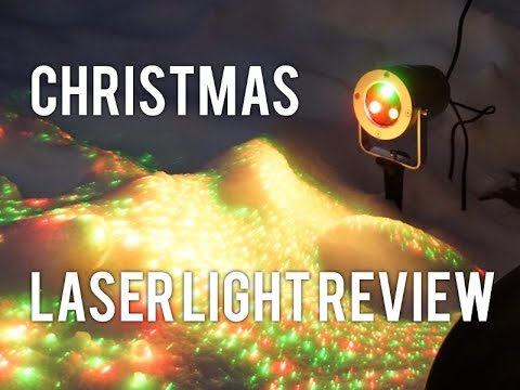 christmas outdoor projector waterproof laser lights unboxingreview christmas light alternative - Christmas Outdoor Projector