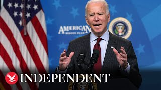 Live: Joe Biden marks over 500,000 Covid-19 deaths in the US
