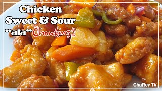 Sweet & Sour Chicken - ala CHOWKING