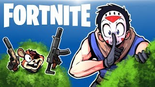 FORTNITE BR - DUO SNEAKY SILENCERS MODE! (Full Match) SHHH!!!