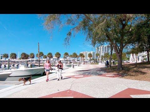 Bayfront Park And Marina - Sarasota, Florida | Walking Tour