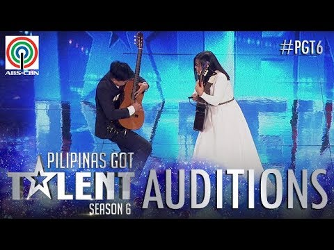 Pilipinas Got Talent 2018 Auditions: Jenny and Jeff - Playing Guitar