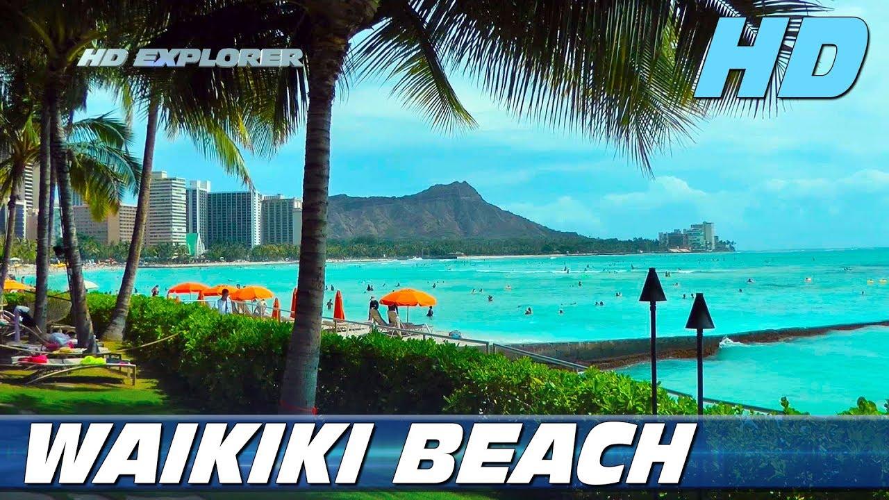 Waikiki Beach Honolulu Hawaii Usa