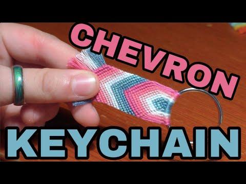 Chevron Keychain Tutorial — BEGINNER FRIENDLY | Alex's Innovations