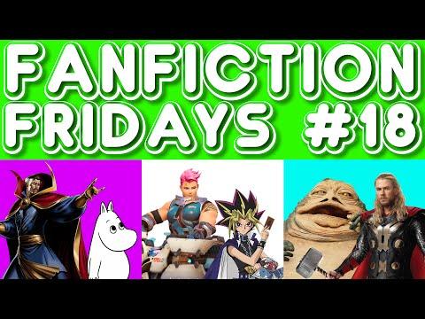 Fanfiction Friday #18 - Dr. Strange/Moomin, Yami/Zarya, Jabba the Hutt/Thor