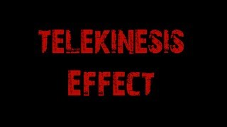 VFX Trinity: Telekinesis - After Effects - Revenge is coming!!!!