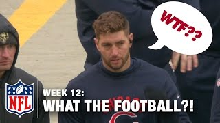 Top 5 Worst Moments (Week 12) | WTF: What The Football?! | NFL Now