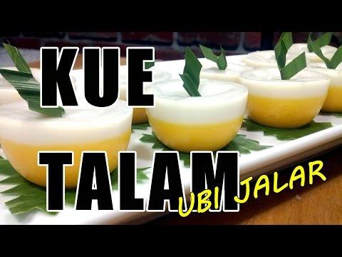 Resep Kue Talam - Cara Membuat Kue Talam Ubi Jalar