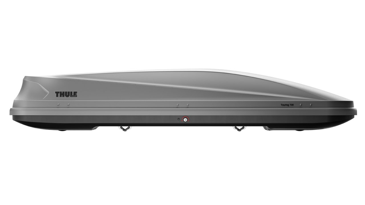 Thule evolution 700 roof box 36 w led tube light