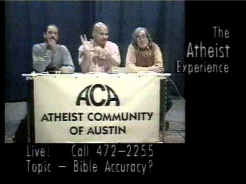 Atheist Experience #36 with Ray Blevins, Joe Zamecki, and David Kent