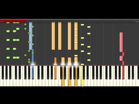 Disclosure Nocturnal The Weeknd Piano Midi Toturial For Remix Cover or Karaoke