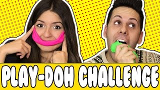 SCULTURE DEGLI YOUTUBER - Play Doh Challenge