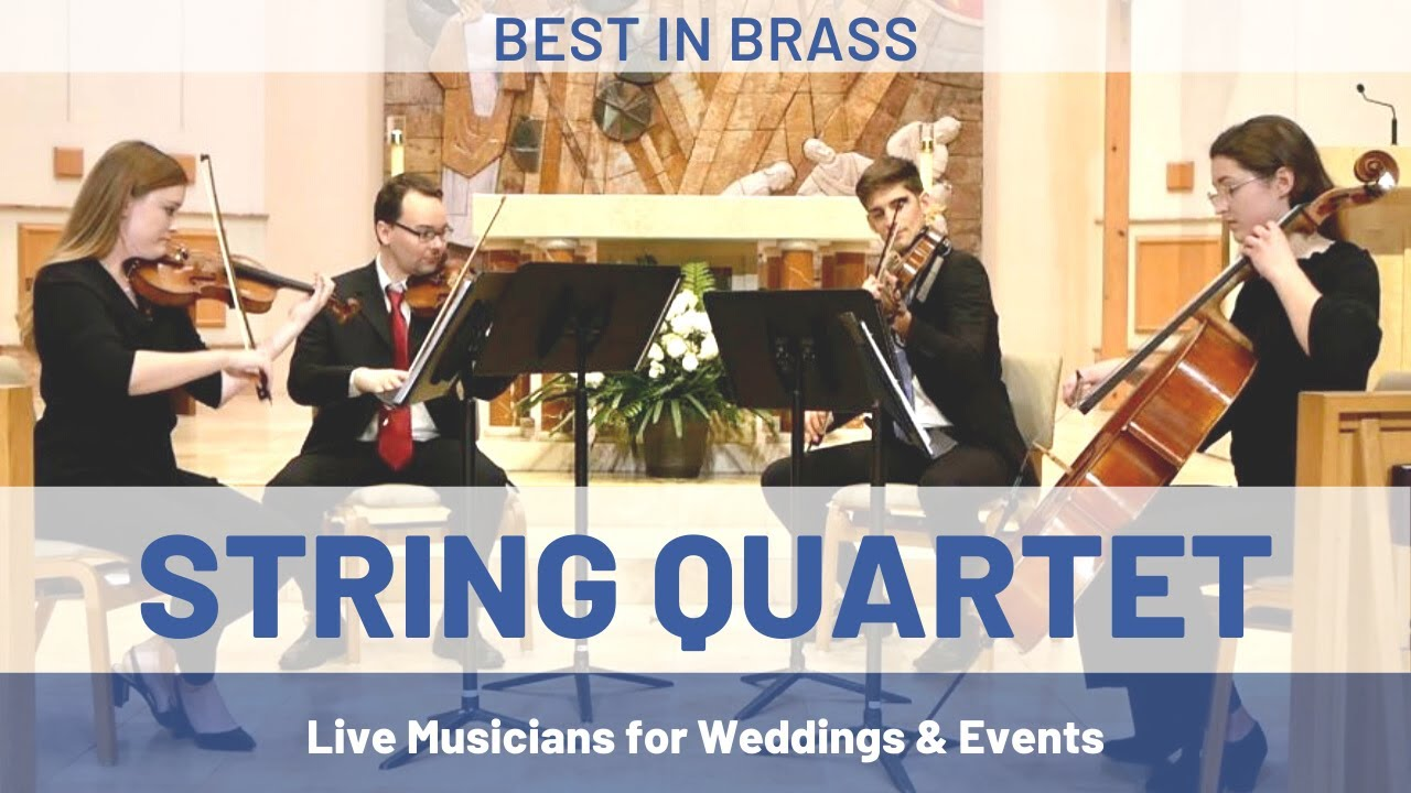 4 Classic Wedding String Quartet Songs for Your Ceremony