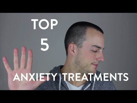Top 5 Treatments for Anxiety Disorders
